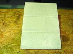 窯業系サイディング無塗装板12ミリ表面